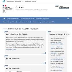 Bienvenue au CLEMI Toulouse