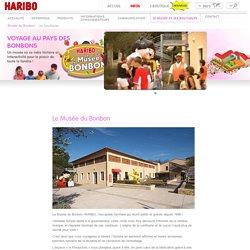 Bienvenue au Musée du Bonbon HARIBO à Uzès, France.