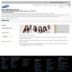 Bienvenue - Carrières - À Propos de Samsung - Samsung