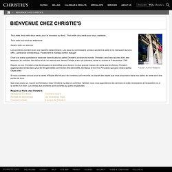 Bienvenue chez Christie's 3.6 Beta 5