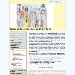 [Bienvenue sur le site du Collège Jean-Marie MOLLIET de BOEGE] Contes écrits par les élèves de CM2 et de 6e