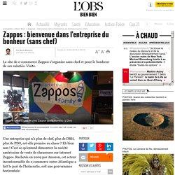 Zappos : bienvenue dans l'entreprise du bonheur (sans chef) - 16 avril 2015