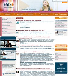 ESIEE Management -