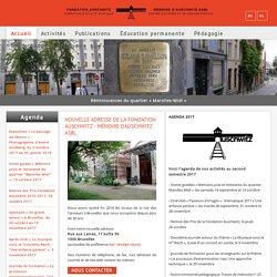 Bienvenue sur le site de la Fondation Auschwitz Bruxelles - Fondation Auschwitz