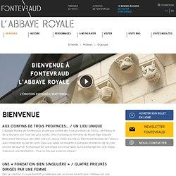 Bienvenue à Fontevraud