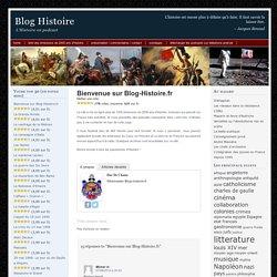 Blog Histoire : l'Histoire en podcasts