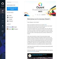 Bienvenue sur le nouveau Qwant ! – Blog Qwant