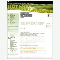 Bienvenue à Odyssée Agri - Coûts