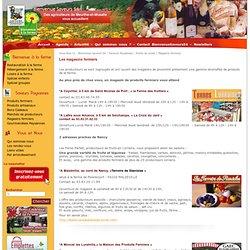 BS54-Bienvenue saveurs 54-Saveurs Paysannes-Points de vente-Magasins fermiers