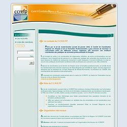 Bienvenue sur le portail du CCREFP