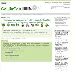 Bienvenue dans GeLibrEdu — GeLibrEdu