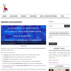 Bienvenue sur QueerParis ! - QueerParis