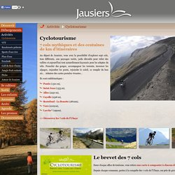 Bienvenue à Jausiers au coeur de la Vallée de l'Ubaye : Restefond la Bonette, plan de Siguret, randonnée, rafting, VTT,