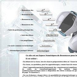 Bienvenue dans la rubrique technologie du site internet du collège Jean Monnet