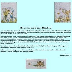 Didactisation de 4 Märchen