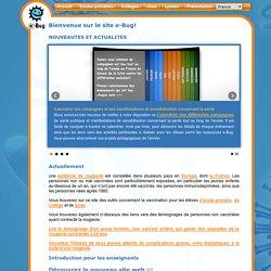 Bienvenue sur le site e-Bug!
