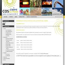 Bienvenue sur le site du COS La Poste de l'Isère