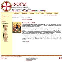 ISOCM - Société Internationale pour la Musique de l'Eglise Orthodoxe