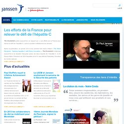 Laboratoire Janssen : Groupe pharmaceutique, Laboratoire pharmaceutique France