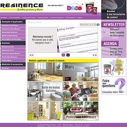 Bienvenue sur le site de Résinence