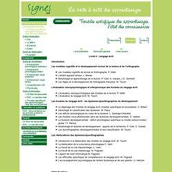 Bienvenue sur le site de Signes.ed