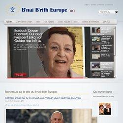 B'nai B'rith Europe FR