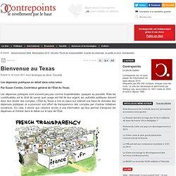 Texas buro controleur et transparence