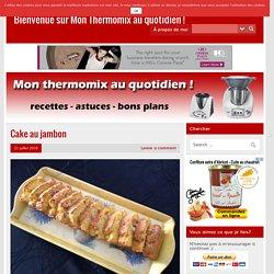 Cake au jambon – Bienvenue sur Mon Thermomix au quotidien !