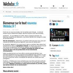 Bienvenue sur le tout nouveau Webdoc.fr ! ← Webdoc.fr