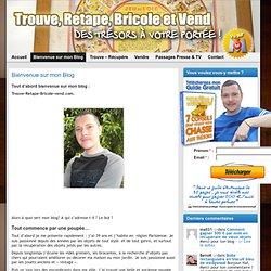 Bienvenue sur mon Blog » Trouve Retape Bricole et Vend !