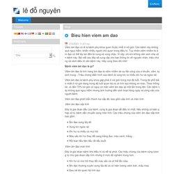 Bieu hien viem am dao - Welcome - Κοινωνική Φροντίδα