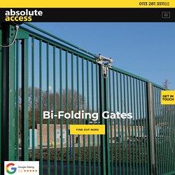 Bi-Folding Gates in Leeds and Throughout the UK