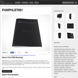 PSD Mock-Up Multi Page BiFold Pamphlet