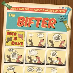 Bifter SVG Comic - HTML5 - CSS3 - RDFa - Screenreader friendly