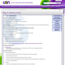 Big 6 Resources