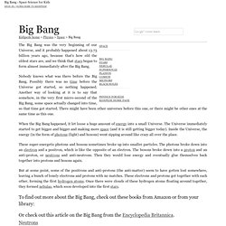 Big Bang - Space Science for Kids!