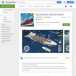 Big Container Ship Simulator