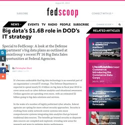 Big data's $1.6B role in DOD's IT strategy