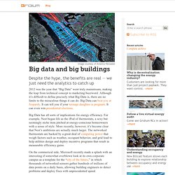 Big data and big buildings