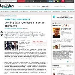 Le « big data », encore à la peine en France
