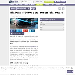Big Data : l'Europe traîne son (big) retard