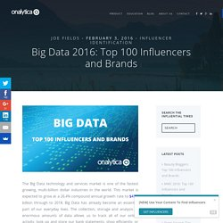 Big Data: Top 100 Influencers and Brands