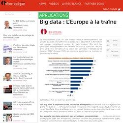 Big data : L'Europe à la traîne