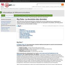 Big Data. La révolution des données.