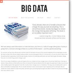 Big Data » On the book