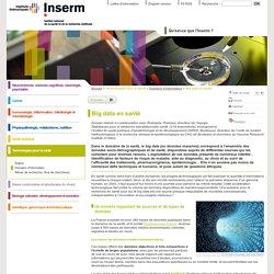 INSERM - Big data en santé.