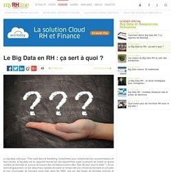 Le Big Data en RH : ça sert à quoi ? - Dossier spécial RH