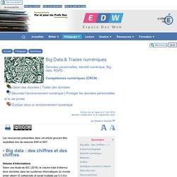 Big Data & Traces numériques - [Espace Doc Web]