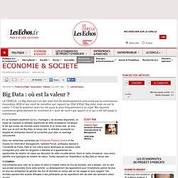 Big Data : où est la valeur