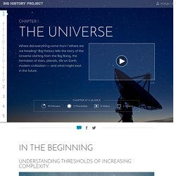 Big History Project: The Universe